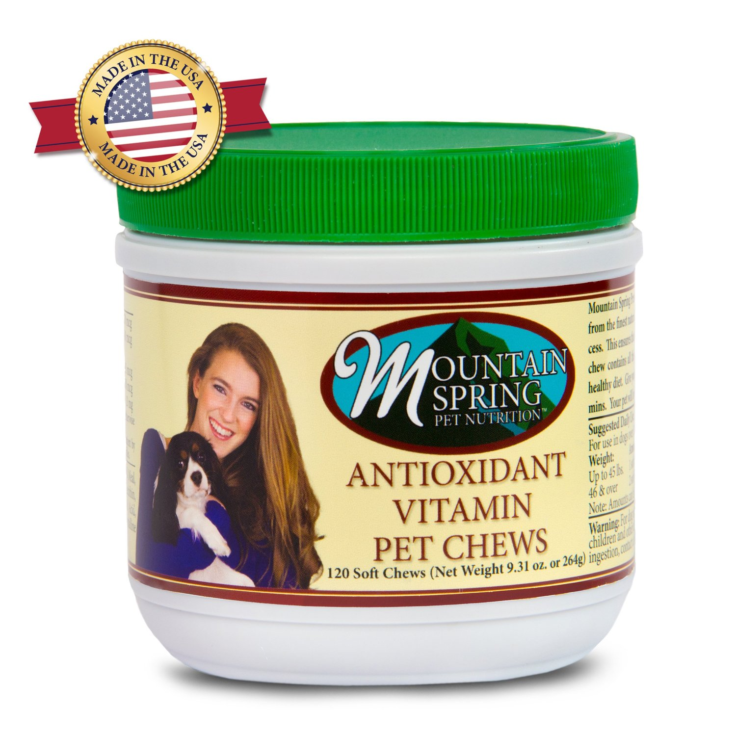 Antioxidant Multivitamin Pet Chews - Made In The USA