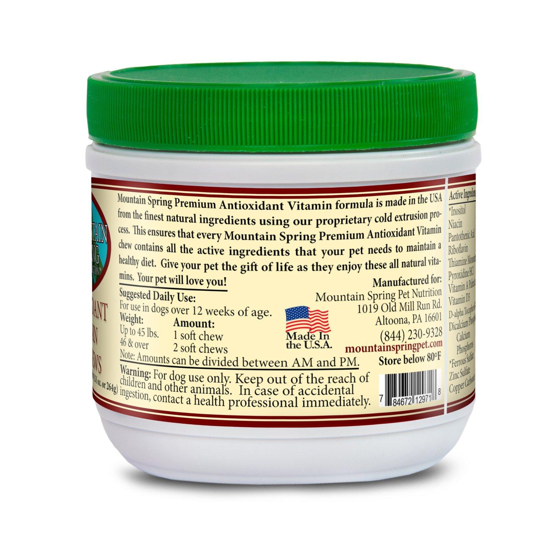 Antioxidant Multivitamin Pet Chews